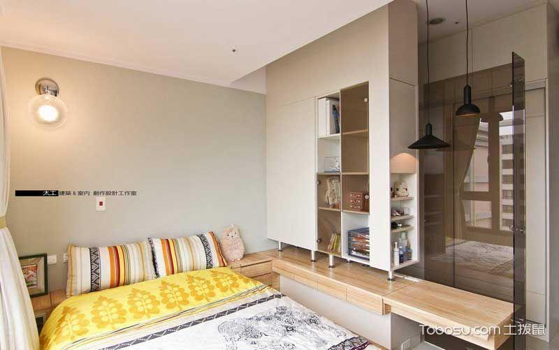 78平自然舒适宜家公寓 超大落地窗很亮眼