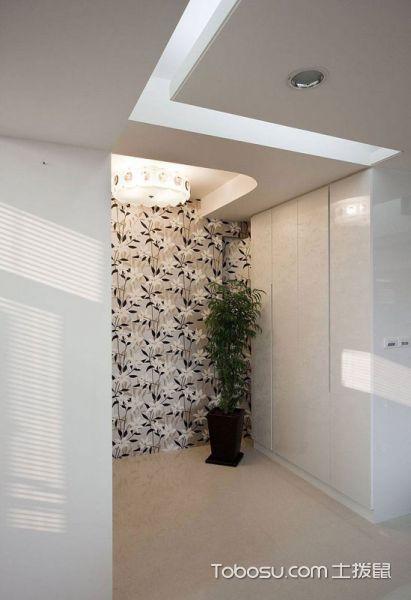2018简欧起居室装修设计 2018简欧门厅装修效果图片