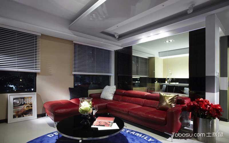 现代风格套房105平米装修