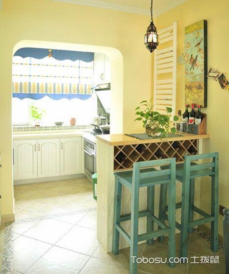 周末狂欢趴 10个厨房吧台装修效果图