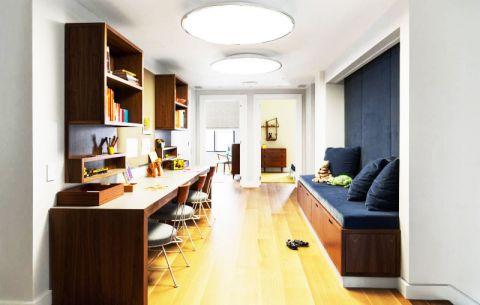 淡雅书房混搭家装设计