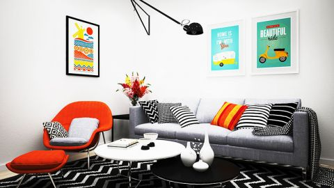 公寓60平米北欧风格装修
