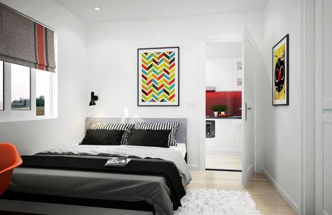 奢华大气灰色卧室设计图