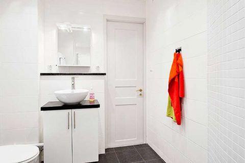 完美白色卫生间室内装饰