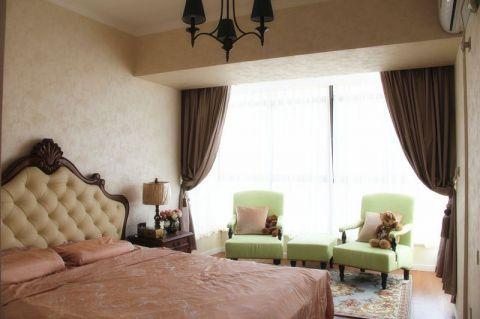 简洁窗帘装修方案