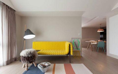 67平米公寓简约风格装修案例