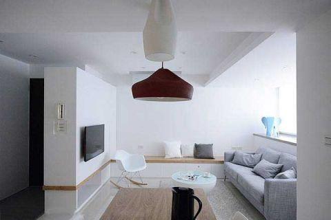 60平米公寓简约U乐国际u乐娱乐平台