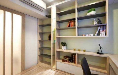 书房书架简约装修图片
