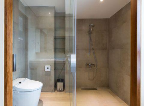 2019现代简约浴室设计图片 2019现代简约推拉门装饰设计