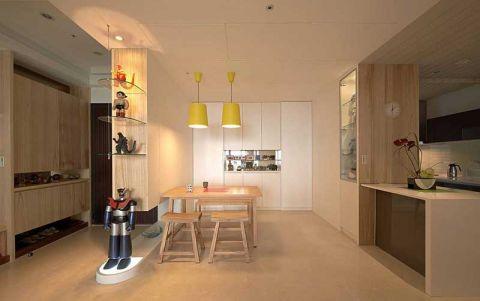 91平米二居室北欧风格装修