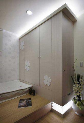 卧室衣柜混搭装潢实景图片