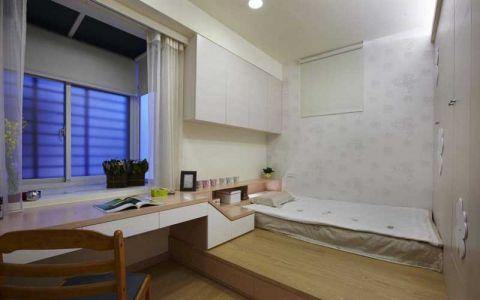 卧室黄色床设计方案