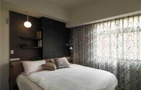 清新卧室床头柜装修案例