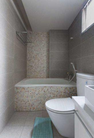 浴室背景墙简约装修方案