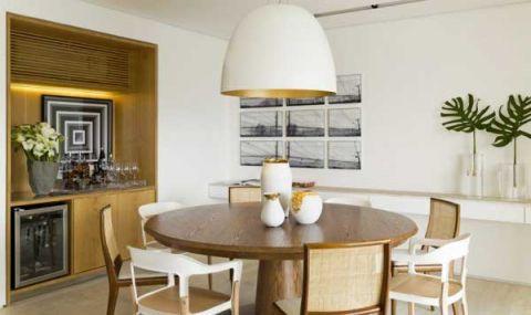摩登餐厅简欧设计图片