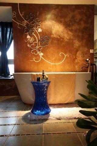 质朴浴室设计图欣赏