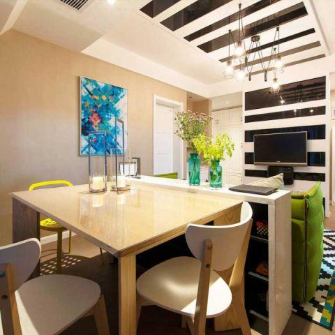 99平米二居室现代风格装修图片