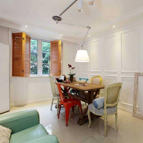 现代简约风格三居室132平米装潢图片