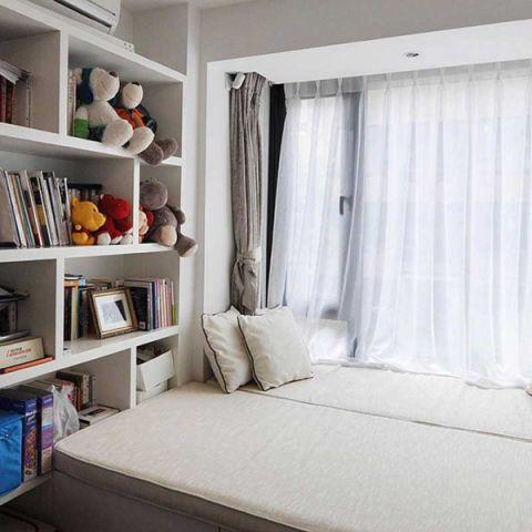 二居室88平米现代简约风格构造图