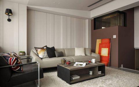 美式风格复式115平米装饰实景图片