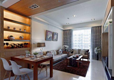 二居室98平米新中式风格装潢实景图片
