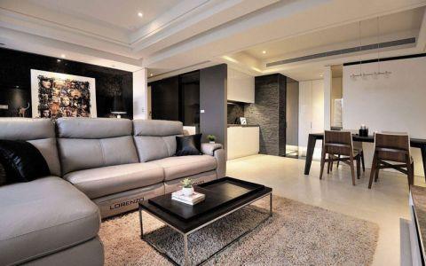 三居室172平米现代简约风格装饰设计