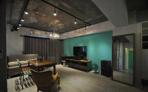 60平米公寓混搭风格设计图欣赏