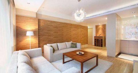 现代中式风格小户型90平米室内装饰