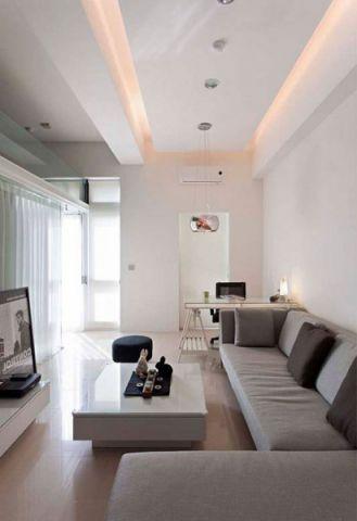 日式风格小户型76平米家装设计图