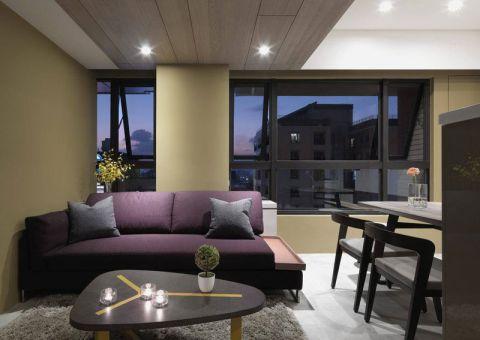 89平米二居室北欧风格室内装修设计