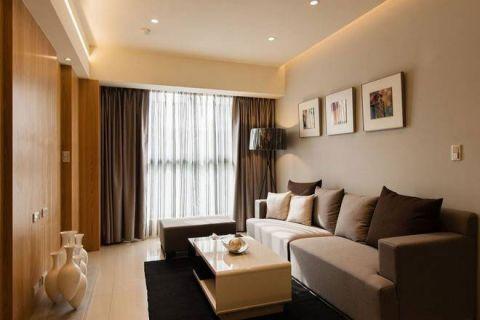 现代风格二居室118平米案例图片