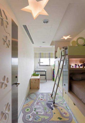 富丽儿童房简约设计