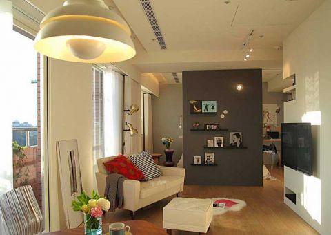 60平米公寓北欧风格装修