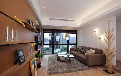 简约U乐国际二居室82平米u乐娱乐平台