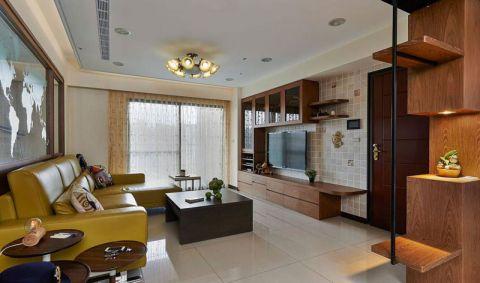 二居室113平米美式风格装修