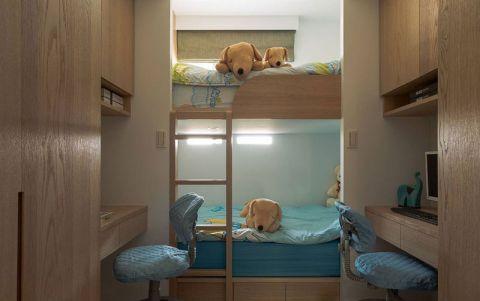 现代儿童房床装修