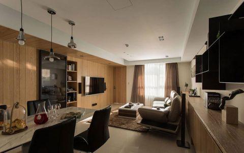 三居室110平米现代中式风格装修