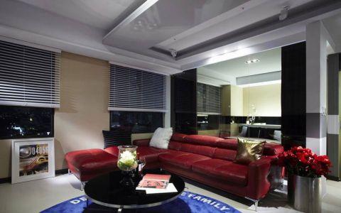 91平米二居室现代简约风格装修