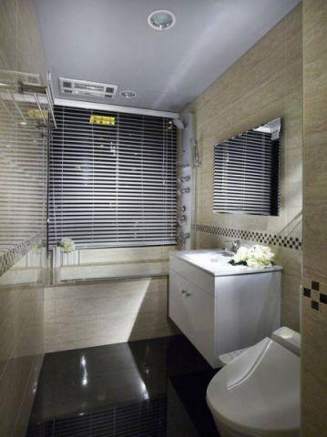 现代简约卫生间背景墙u乐娱乐平台设计图片