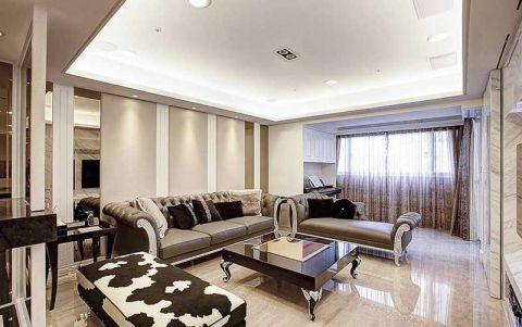 新古典风格二居室159平米装修