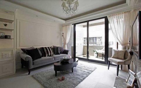 公寓72平米简约风格装修