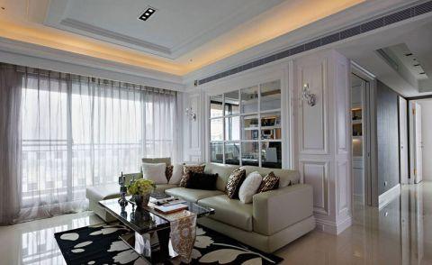 132平米套房现代欧式风格设计