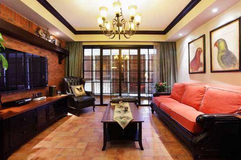 田园风格二居室153平米装修设计图片