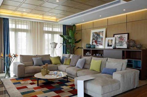 现代中式风格公寓153平米装饰设计图片