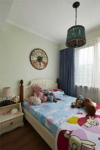 风雅绿色儿童房装饰图