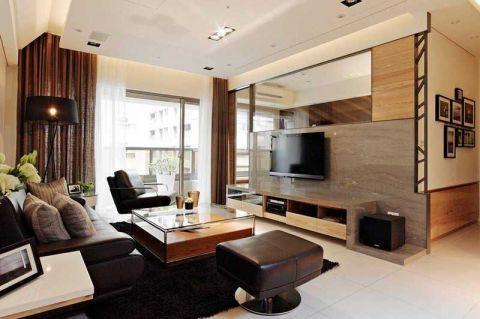 98平米二居室现代风格实景图
