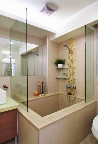 浴室黄色浴缸设计优乐娱乐官网欢迎您