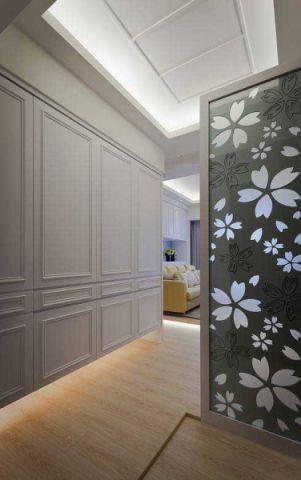美式风格三居室100平米装饰实景图片