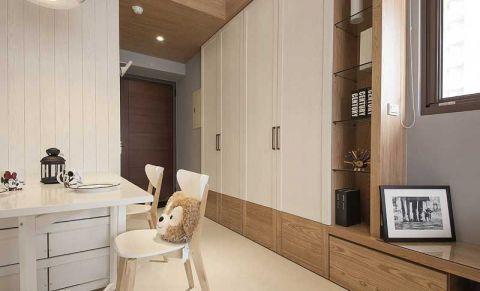 97平米二居室简约风格设计图欣赏