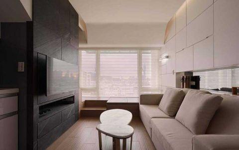 简约风格公寓77平米图片